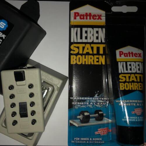 MILKBOX_S5KLEB -  postbox keysafe - magnetic keysafe