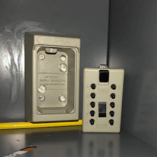MILKBOX_S5KLEB - Key Safe - safe