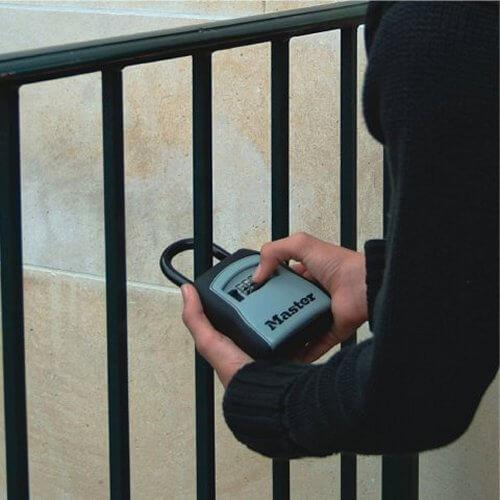 MLK5400D - magnetic keysafe -  postbox keysafe