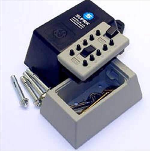 SUPRAS5 -  postbox keysafe -  postbox keysafe