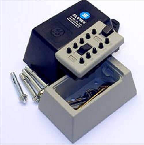 SUPRAS5 - milkbox keysafe - milkbox keysafe